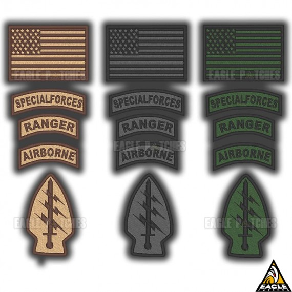 Patch Bordado KIT US Forces