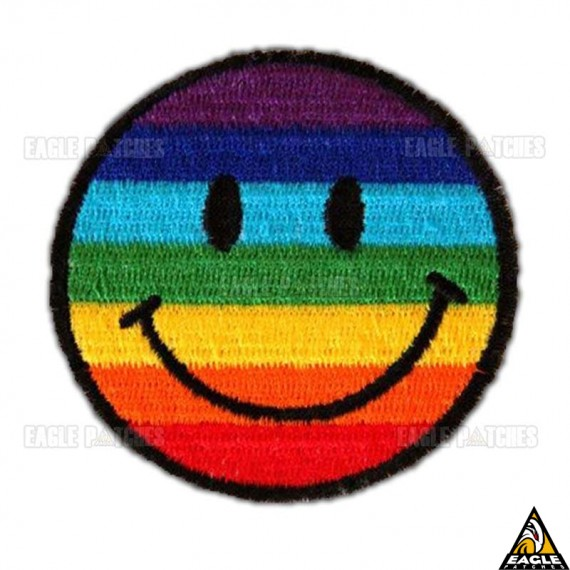 Patch Bordado Smile Orgulho Gay