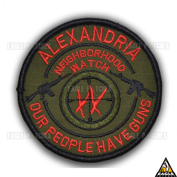 Patch Bordado The Walking Dead Alexandria