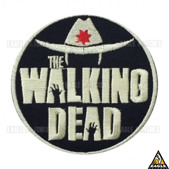Patch Bordado The Walking Dead Chapéu