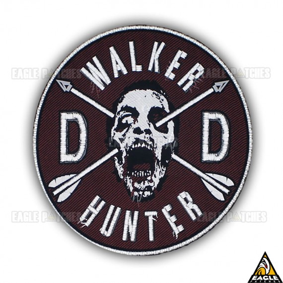 Patch Bordado The Walking Dead Dixon Crossbows Walker Hunter