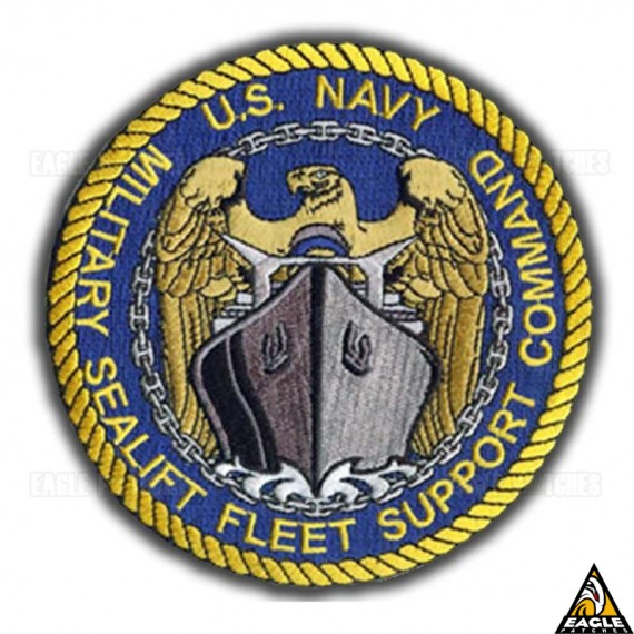 Patch Bordado U.S. NAVY