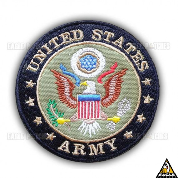 Patch Bordado Us Army