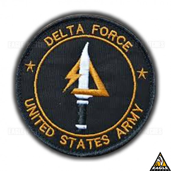 Patch Bordado US Army - Delta Force
