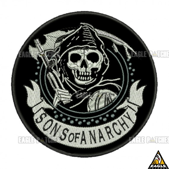 Patch  Bordados Sons of Anarchy