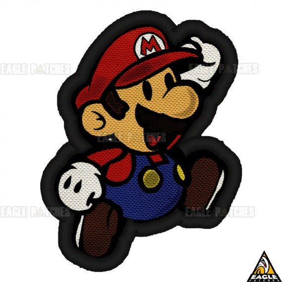 Patch Digital Mário Bros