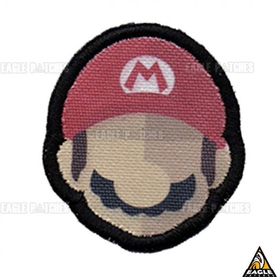 Patch Digital Mario - Face