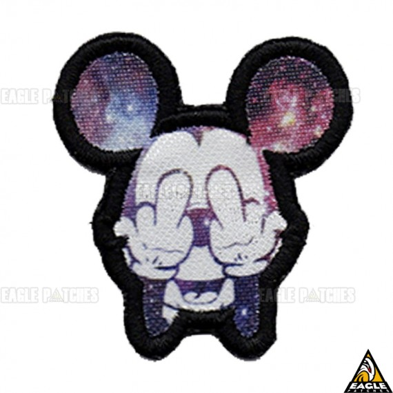 Patch Digital Michey - Midle Finger 7x7
