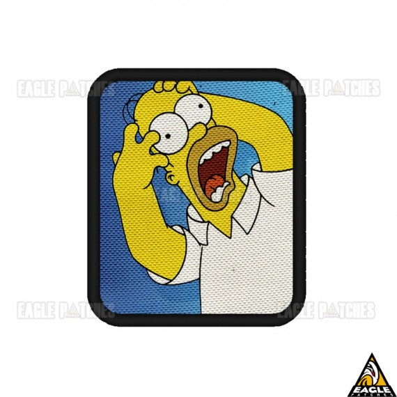 Patch Digital Os Simpsons - Crazy Homer