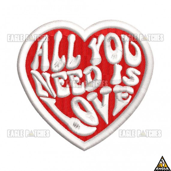 Patch Bordado All You Need Is Love - The Beatles