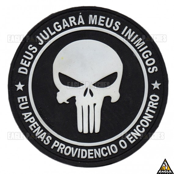Patch Emborrachado Punisher