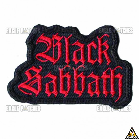 Patch Bordado Black Sabbath