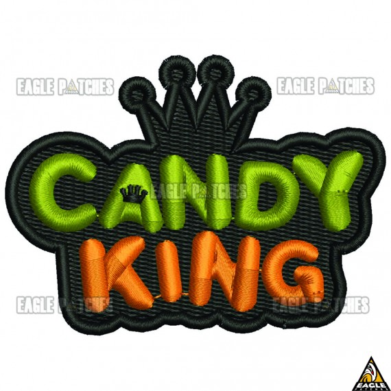Patch  Bordado Candy King