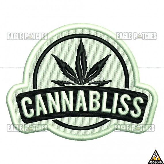 Patch  Bordado Cannabliss