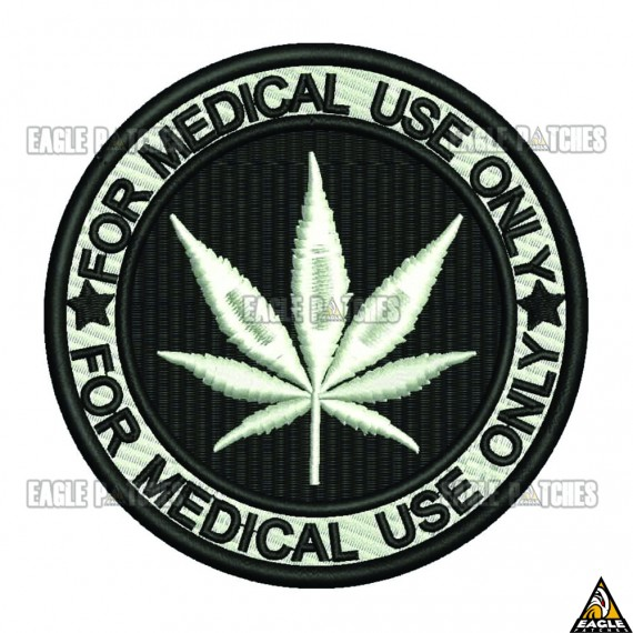 Patch  Bordado For Medical  Use Only