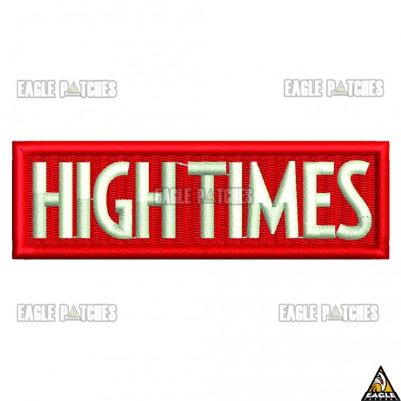 Patch  Bordado Hightime