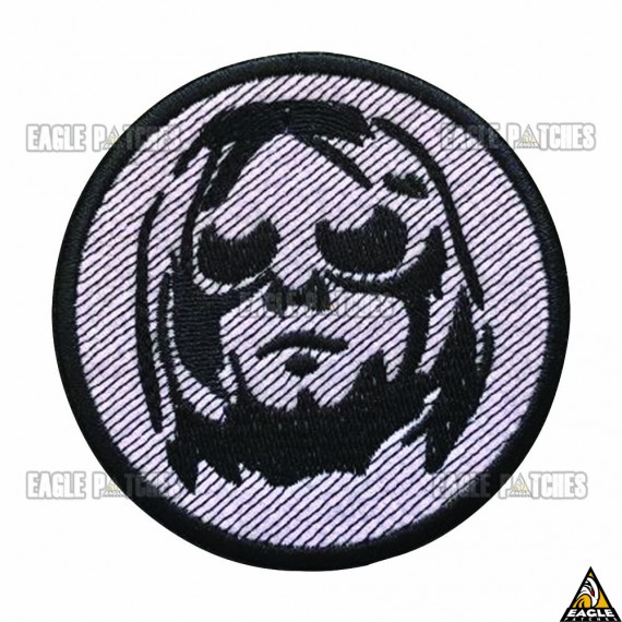 Patch Bordado Kurt Kobain