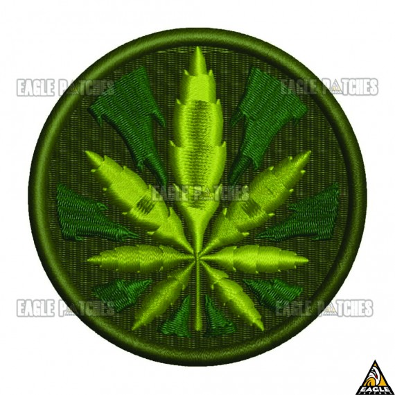 Patch  Bordado Leaf Masters