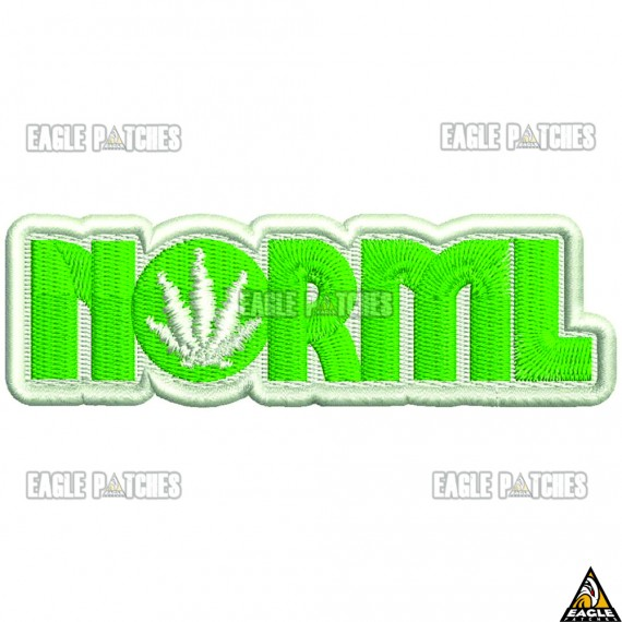 Patch  Bordado NORML