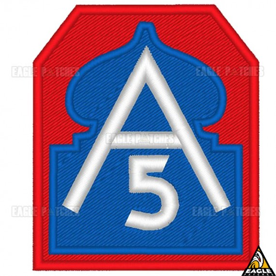 A5 - Patch Bordado 5ª Exército - FEB