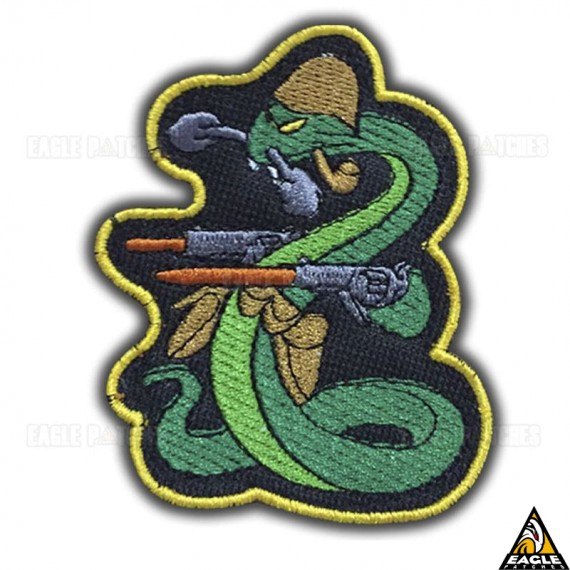 Patch Bordado A Cobra Fumou-FEB