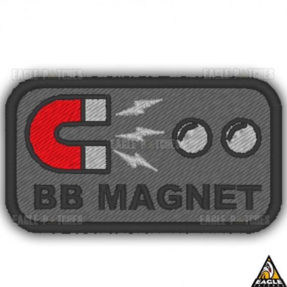 Patch Bordado BB Magnet