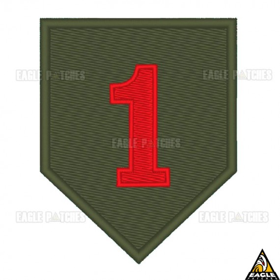 Patch Bordado The 1st Infantry Division - Big Red One - FEB