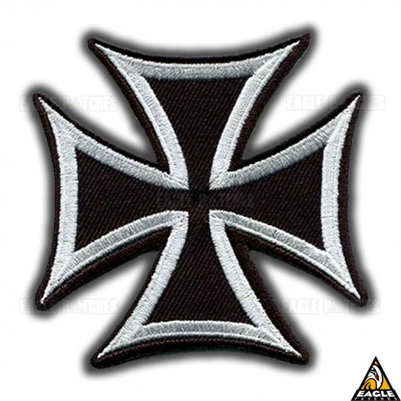 Patch Bordado Cruz de Ferro