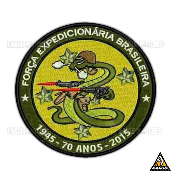 Patch Bordado FEB - 70 Anos