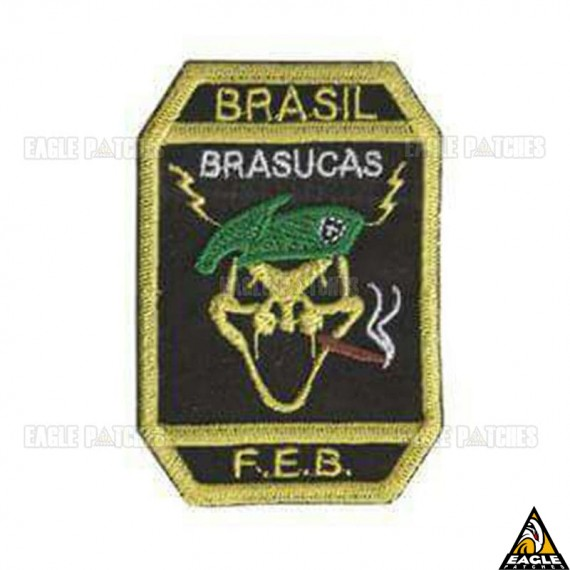 Patch Bordado FEB - Brasucas