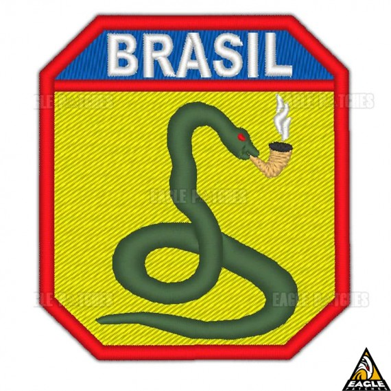 Patch Bordado FEB (Força Expedicionária do brasil) WW2