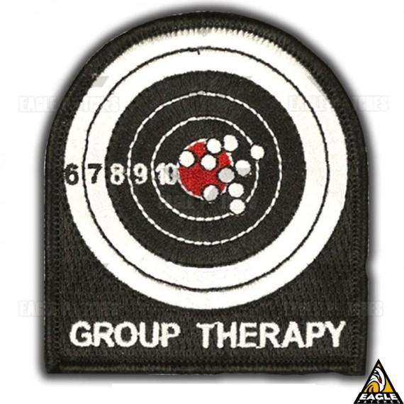 Patch Bordado Group Therapy