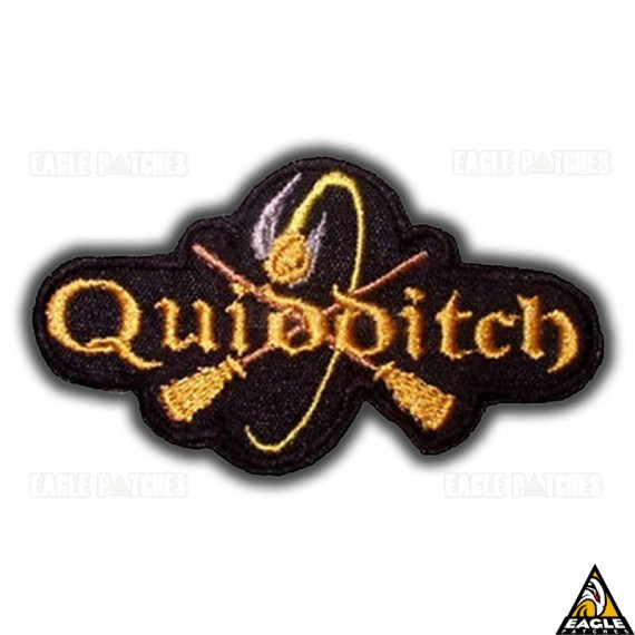 Patch Bordado Harry Potter Quidditch