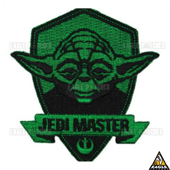 Patch Bordado Yoda - Jedi Master Star Wars