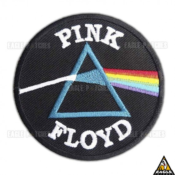 Patch Bordado Pink Floyd