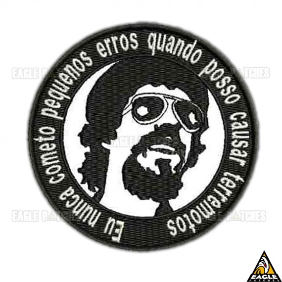 Patch Bordado Raul Seixas
