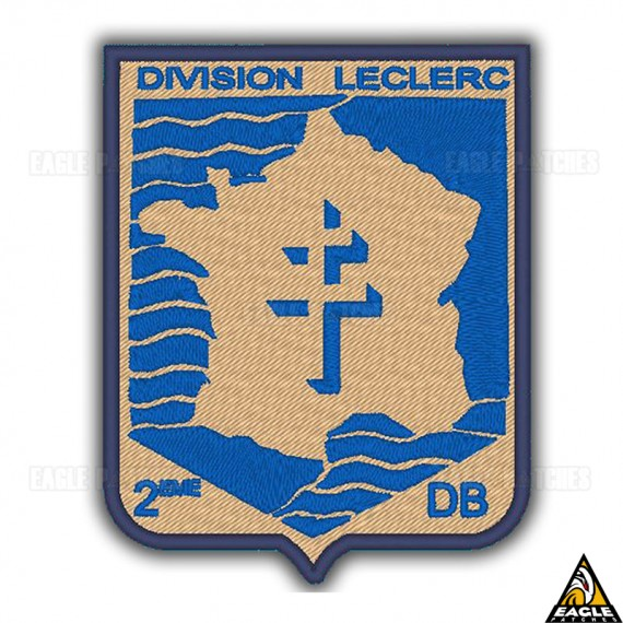 Patch Bordado WWI 2eme DB - Division Leclerc