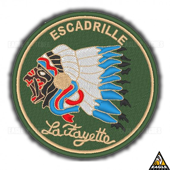 Patch Bordado WWI Esq Lafayette