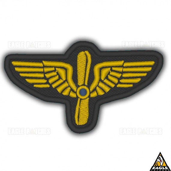 Patch Bordado WWI French Air Service Pilot Officer Sleeve insignia