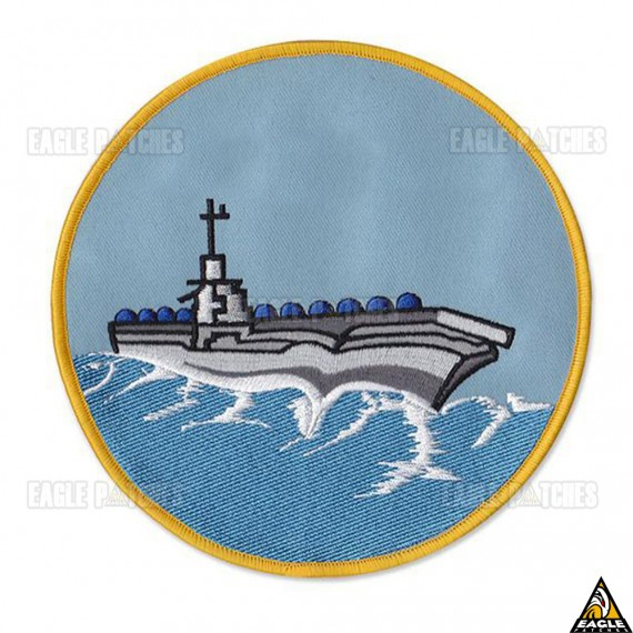 Patch Bordado Top Gun - Naval
