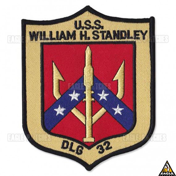 Patch Bordado Top Gun - U.S.S. William H. Standley