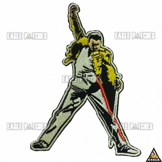 Patch Bordado Queen - Freddie Mercury