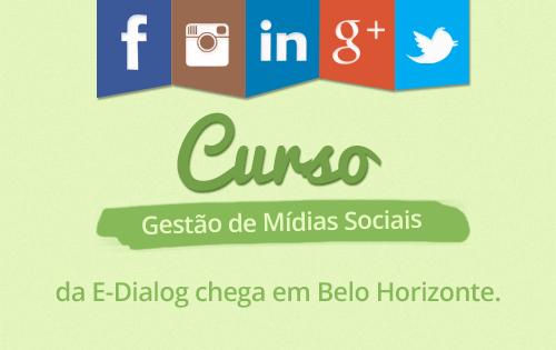 Belo Horizonte é o destino do nosso próximo curso