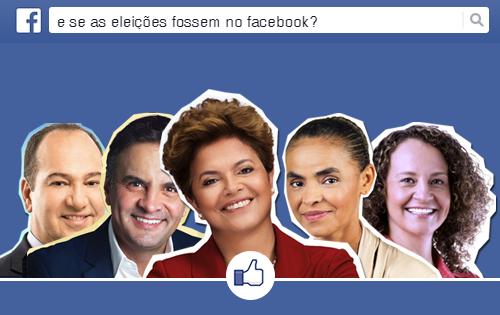E se as eleições fossem no Facebook?