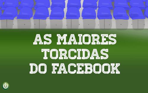 Arquibancada virtual – quais as maiores torcidas no Facebook?