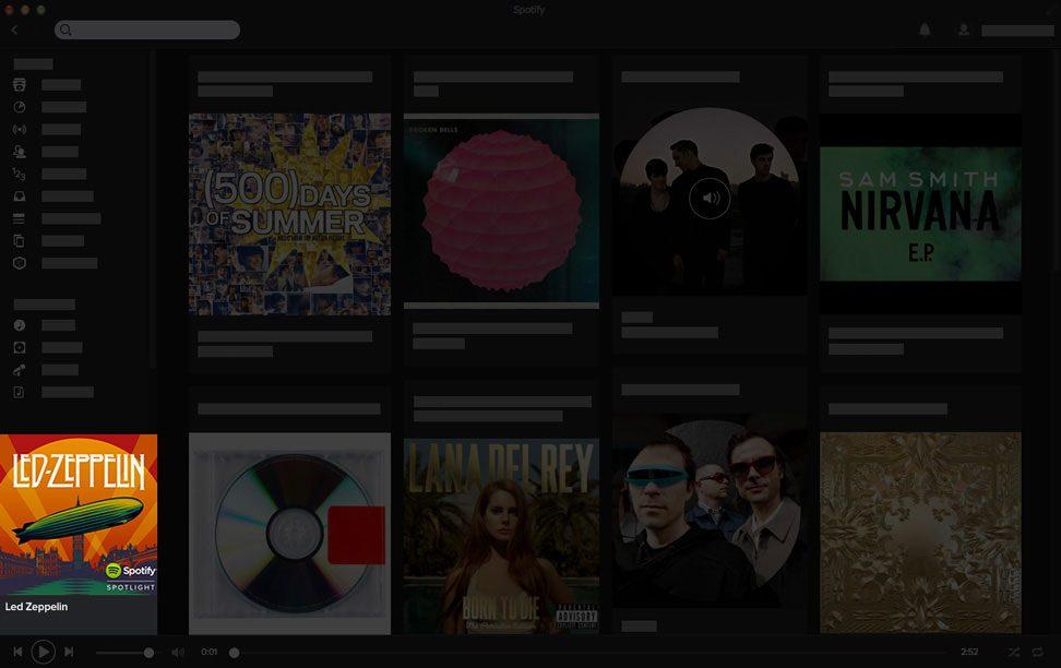 Como anunciar no Spotify? Tela do anúncio em áudio