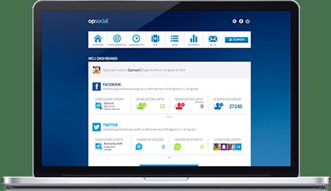 Plataforma OPSocial, ferramenta de monitoramento de redes sociais