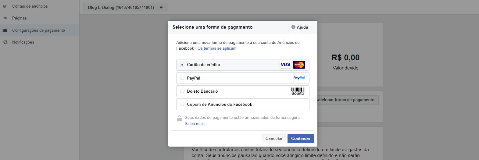 print-tutorial-como-criar-conta-de-anuncios-facebook-formas-de-pagamento