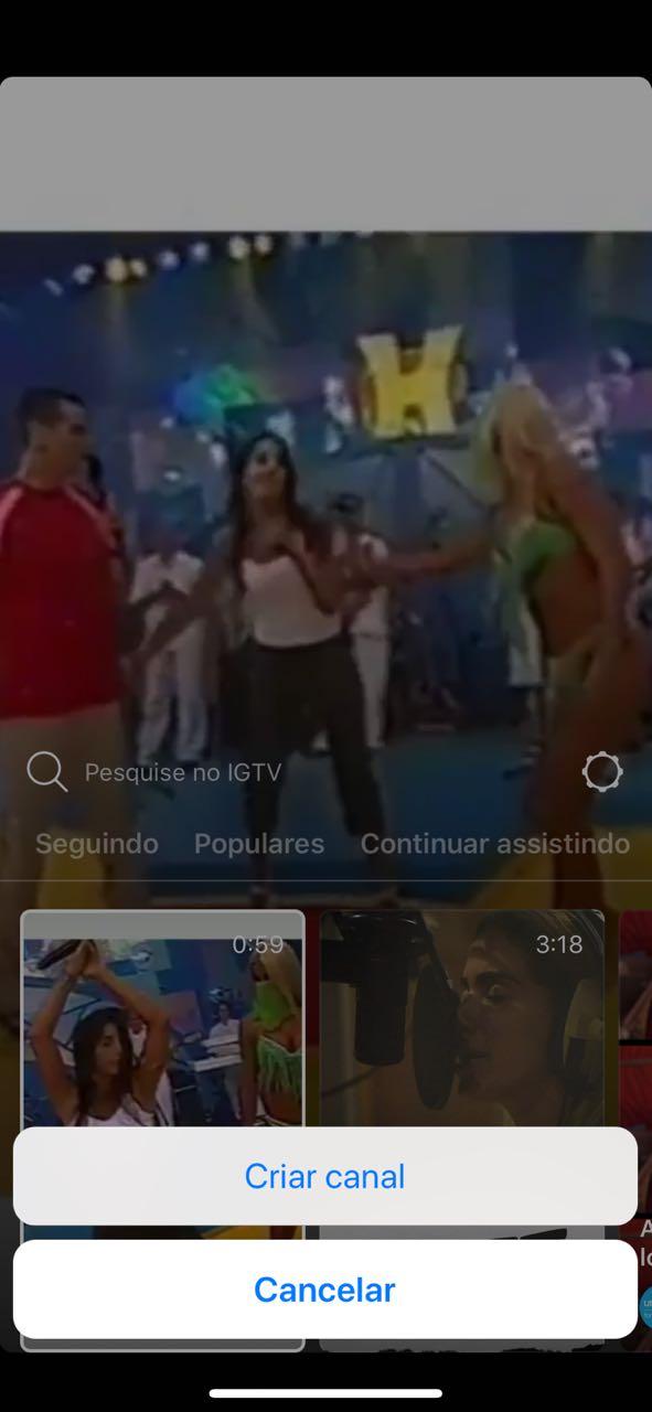 como criar IGTV no instagram