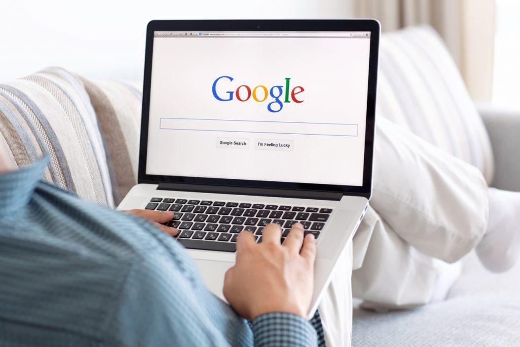 Imagem de mecanismo de buscas para ensinar a como colocar minha empresa no Google